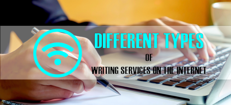Types of Writing Services