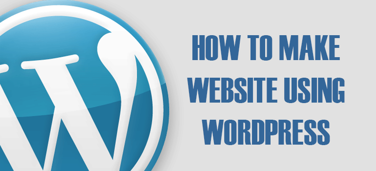 WEBSITE USING WORDPRESS