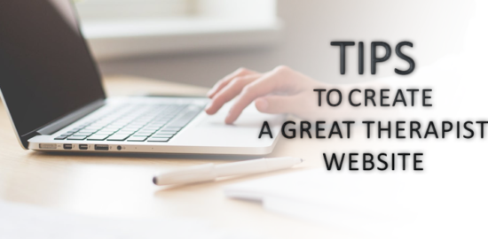 Tips to Create a Great Therapist Website
