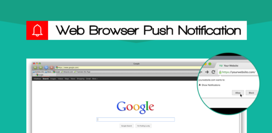 Web Browser Push Notification